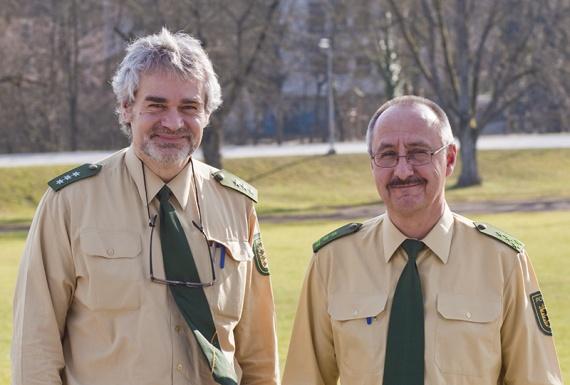 Olaf Gottschall und Herbert Schedler