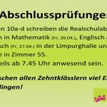 2018-04-20 - Abschlussprüfungen
