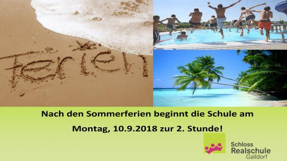 2018-07-25 - Sommerferien - Schüler